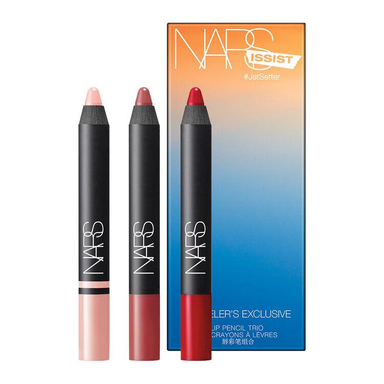 NARSissist #JetSetter Lip Pencil Trio,