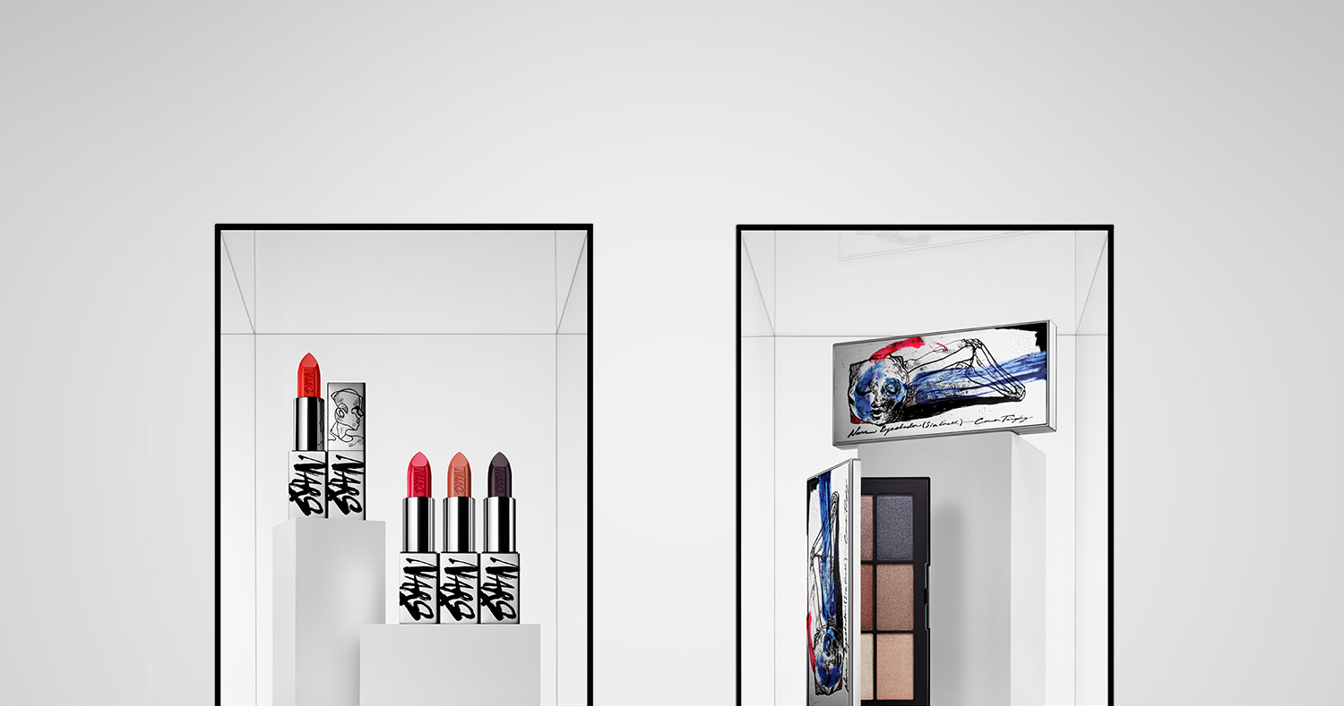 new concept d8376 cdd1d NARS Connor Tingley Collection