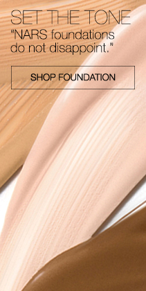 SET THE TONE.  NARS foundations do not disappoint. Shop Foundation.