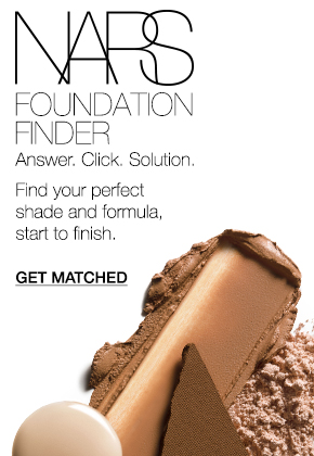 NARS Foundation Finder. Answer. Click. Solution. Find your perfect shade and formula, start to finish.